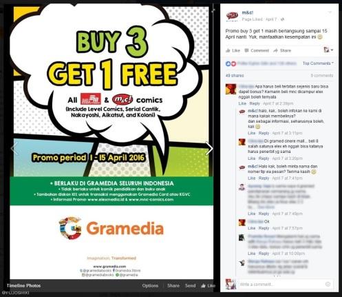 ss - promo buy 3 get 1 free & tanya jawab